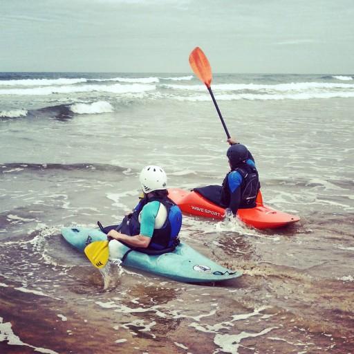 Kayak berria santoña