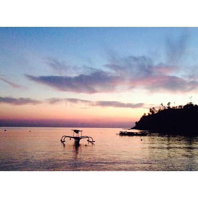 Amanecer en Bali